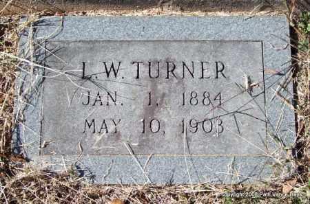 TURNER, L. W. - Garland County, Arkansas | L. W. TURNER - Arkansas Gravestone Photos
