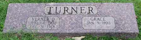 TURNER, VERNER D. - Garland County, Arkansas | VERNER D. TURNER - Arkansas Gravestone Photos