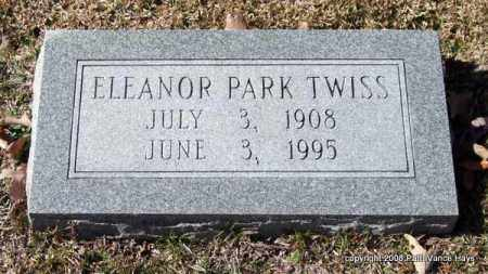 PARK TWISS, ELEANOR - Garland County, Arkansas | ELEANOR PARK TWISS - Arkansas Gravestone Photos