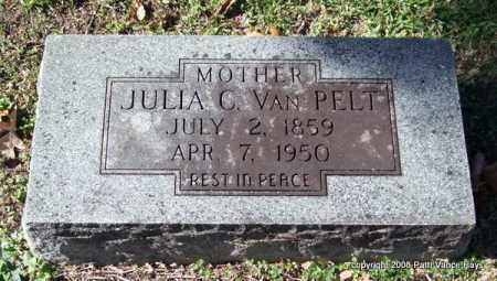 VAN PELT, JULIA C. - Garland County, Arkansas | JULIA C. VAN PELT - Arkansas Gravestone Photos