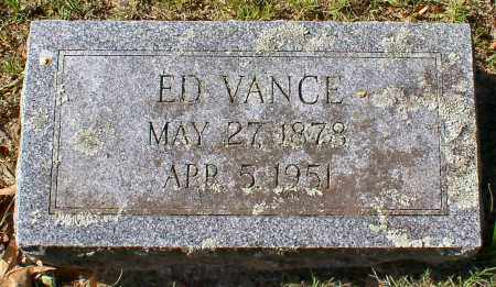 VANCE, ED - Garland County, Arkansas   ED VANCE - Arkansas Gravestone Photos