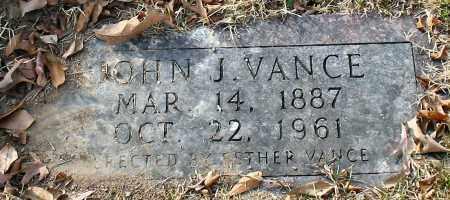 VANCE, JOHN J. - Garland County, Arkansas | JOHN J. VANCE - Arkansas Gravestone Photos