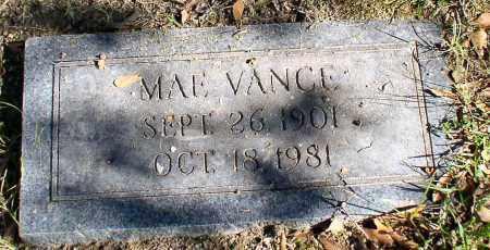 VANCE, MAE - Garland County, Arkansas | MAE VANCE - Arkansas Gravestone Photos