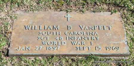 VANPELT (VETERAN WWI), WILLIAM B - Garland County, Arkansas   WILLIAM B VANPELT (VETERAN WWI) - Arkansas Gravestone Photos