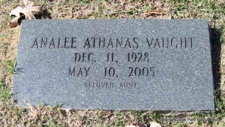 ATHANAS VAUGHT, ANALEE - Garland County, Arkansas | ANALEE ATHANAS VAUGHT - Arkansas Gravestone Photos