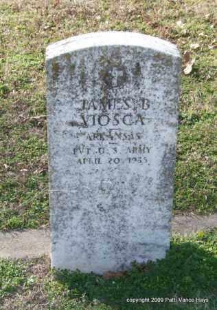 VIOSCA (VETERAN), JAMES B - Garland County, Arkansas | JAMES B VIOSCA (VETERAN) - Arkansas Gravestone Photos