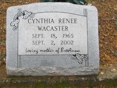 WACASTER, CYNTHIA - Garland County, Arkansas | CYNTHIA WACASTER - Arkansas Gravestone Photos