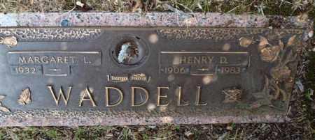 WADDELL, HENRY D - Garland County, Arkansas | HENRY D WADDELL - Arkansas Gravestone Photos