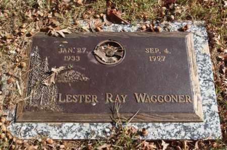 WAGGONER, LESTER RAY - Garland County, Arkansas   LESTER RAY WAGGONER - Arkansas Gravestone Photos