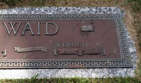 WAID, KENNETH A. - Garland County, Arkansas | KENNETH A. WAID - Arkansas Gravestone Photos