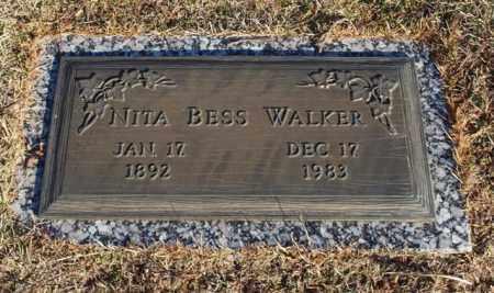BARROW WALKER, NITA BESS - Garland County, Arkansas   NITA BESS BARROW WALKER - Arkansas Gravestone Photos