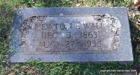 WALL, NEWTON B. - Garland County, Arkansas | NEWTON B. WALL - Arkansas Gravestone Photos