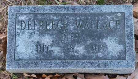 WALLACE, DEFREECE - Garland County, Arkansas   DEFREECE WALLACE - Arkansas Gravestone Photos