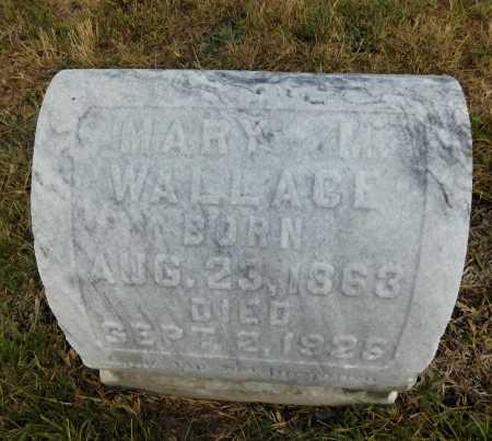 WALLACE, MARY M. - Garland County, Arkansas | MARY M. WALLACE - Arkansas Gravestone Photos