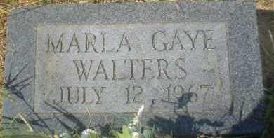 WALTERS, MARLA GAYE - Garland County, Arkansas   MARLA GAYE WALTERS - Arkansas Gravestone Photos
