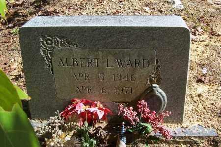 WARD, ALBERT L. - Garland County, Arkansas | ALBERT L. WARD - Arkansas Gravestone Photos