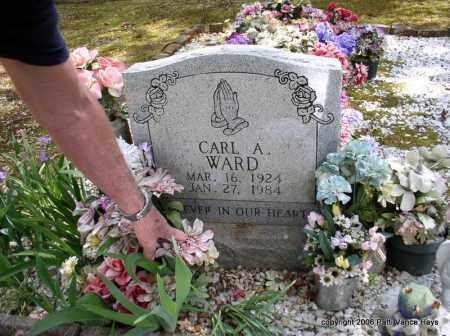 WARD, CARL A. - Garland County, Arkansas | CARL A. WARD - Arkansas Gravestone Photos