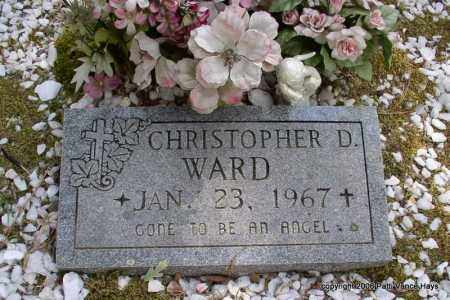 WARD, CHRISTOPHER D. - Garland County, Arkansas | CHRISTOPHER D. WARD - Arkansas Gravestone Photos