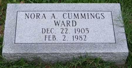 CUMMINGS WARD, NORA A. - Garland County, Arkansas | NORA A. CUMMINGS WARD - Arkansas Gravestone Photos