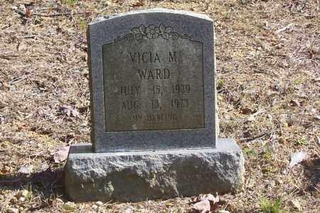 WARD, VICIA M. - Garland County, Arkansas | VICIA M. WARD - Arkansas Gravestone Photos