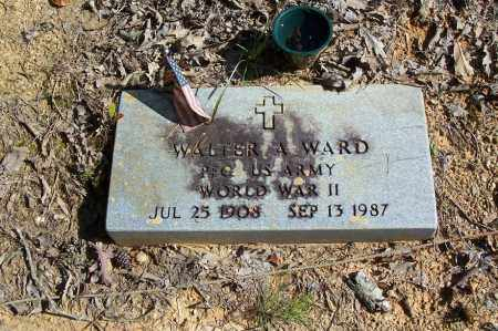 WARD (VETERAN WWII), WALTER A - Garland County, Arkansas   WALTER A WARD (VETERAN WWII) - Arkansas Gravestone Photos