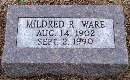 WARE, MILDRED R. - Garland County, Arkansas   MILDRED R. WARE - Arkansas Gravestone Photos