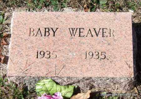 WEAVER, BABY - Garland County, Arkansas | BABY WEAVER - Arkansas Gravestone Photos