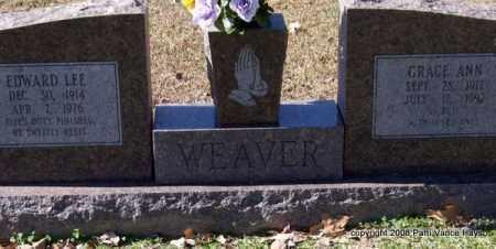 WEAVER, GRACE ANN - Garland County, Arkansas   GRACE ANN WEAVER - Arkansas Gravestone Photos