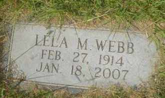 WEEKS WEBB, LELA M. - Garland County, Arkansas | LELA M. WEEKS WEBB - Arkansas Gravestone Photos