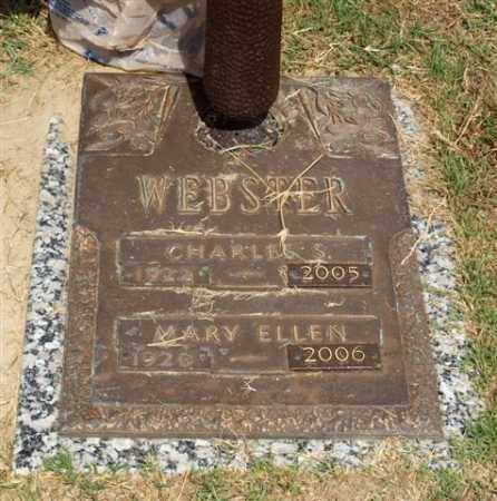 WEBSTER, MARY ELLEN - Garland County, Arkansas | MARY ELLEN WEBSTER - Arkansas Gravestone Photos