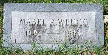 WEIDIG, MABEL R. - Garland County, Arkansas | MABEL R. WEIDIG - Arkansas Gravestone Photos