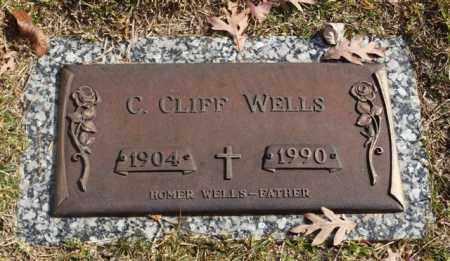 WELLS, C. CLIFF - Garland County, Arkansas | C. CLIFF WELLS - Arkansas Gravestone Photos