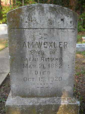 WEXLER, SAM - Garland County, Arkansas   SAM WEXLER - Arkansas Gravestone Photos