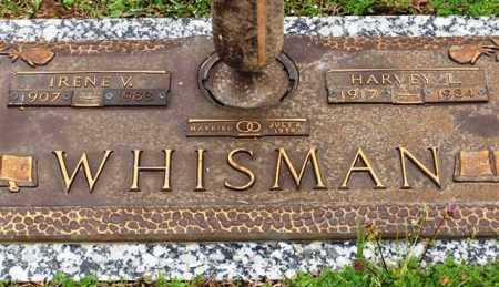 WHISMAN, IRENE V - Garland County, Arkansas | IRENE V WHISMAN - Arkansas Gravestone Photos