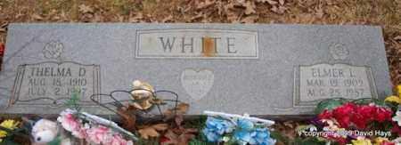 WHISENHUNT WHITE, THELMA D. - Garland County, Arkansas | THELMA D. WHISENHUNT WHITE - Arkansas Gravestone Photos
