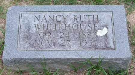 WHITEHOUSE, NANCY RUTH - Garland County, Arkansas | NANCY RUTH WHITEHOUSE - Arkansas Gravestone Photos
