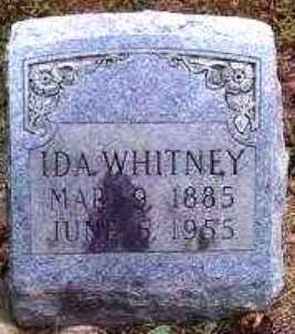 WHITNEY, IDA - Garland County, Arkansas   IDA WHITNEY - Arkansas Gravestone Photos