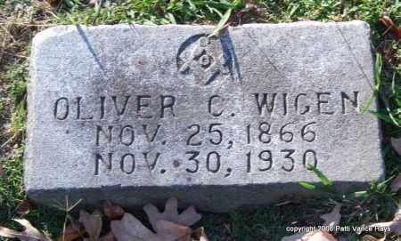 WIGEN, OLIVER C. - Garland County, Arkansas | OLIVER C. WIGEN - Arkansas Gravestone Photos