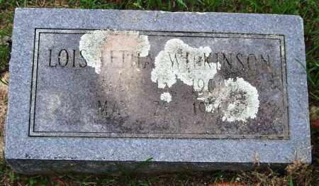 WILKINSON, LOIS LETHA - Garland County, Arkansas | LOIS LETHA WILKINSON - Arkansas Gravestone Photos