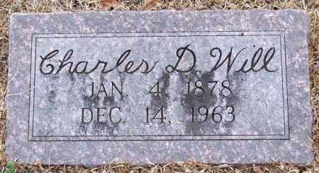 WILL, CHARLES D. - Garland County, Arkansas   CHARLES D. WILL - Arkansas Gravestone Photos