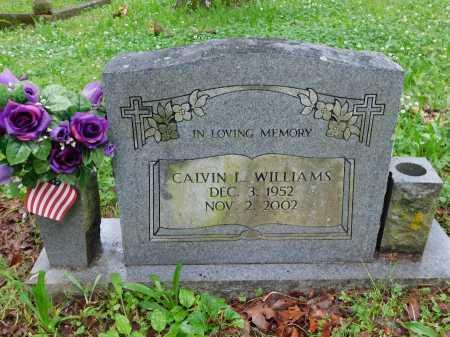 WILLIAMS, CALVIN L. - Garland County, Arkansas | CALVIN L. WILLIAMS - Arkansas Gravestone Photos