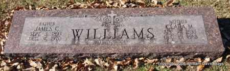 WILLIAMS, JAMES C. - Garland County, Arkansas | JAMES C. WILLIAMS - Arkansas Gravestone Photos