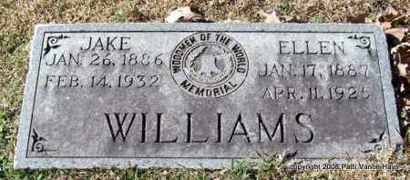 WILLIAMS, ELLEN - Garland County, Arkansas | ELLEN WILLIAMS - Arkansas Gravestone Photos
