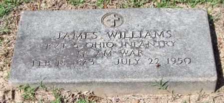 WILLIAMS (VETERAN SAW), JAMES - Garland County, Arkansas | JAMES WILLIAMS (VETERAN SAW) - Arkansas Gravestone Photos