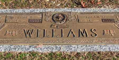 WILLIAMS, HIRAM G - Garland County, Arkansas | HIRAM G WILLIAMS - Arkansas Gravestone Photos