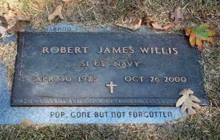 WILLIS (VETERAN), ROBERT JAMES - Garland County, Arkansas | ROBERT JAMES WILLIS (VETERAN) - Arkansas Gravestone Photos