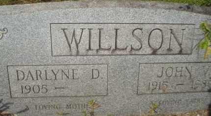 DITTO WILLSON, DARLYNE D. - Garland County, Arkansas | DARLYNE D. DITTO WILLSON - Arkansas Gravestone Photos