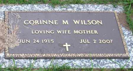 BIGGS WILSON, CORINNE M. - Garland County, Arkansas | CORINNE M. BIGGS WILSON - Arkansas Gravestone Photos