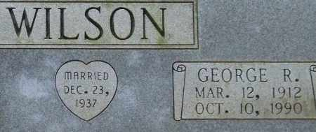 WILSON, GEORGE R. (CLOSE UP) - Garland County, Arkansas | GEORGE R. (CLOSE UP) WILSON - Arkansas Gravestone Photos