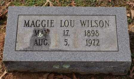 WILSON, MAGGIE LOU - Garland County, Arkansas | MAGGIE LOU WILSON - Arkansas Gravestone Photos
